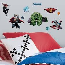 Marvel Bedroom Marvel Room Decor Ebay