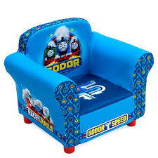 delta children upholstered chair thomas the tank engine