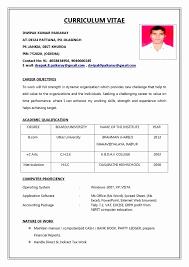 Resume Templates - Myspainholidays.com