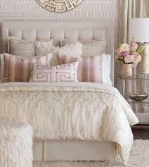 Halo - pink feminine bedding, faux fur bedding,glam bedding ,contemporary,white