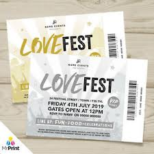 Save The Date No Photo Details About Personalised Engagement Save The Date Lovefest Festival Ticket Style Invitations