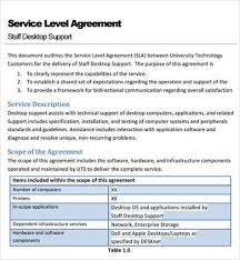 help desk service level agreement template best 25 service level agreement ideas on pinterest viral