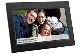 feelcare 10 inch smart wifi digital photo frame with touch screen ips lcd panel