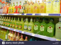 Display 56319012 Liquor - Shelves Miami Walgreens Florida Retail Store Beach Alamy Photo Stock For