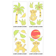 Lion King Bedroom Decorations Disney Baby Lion King Wall Decals Babiesrus