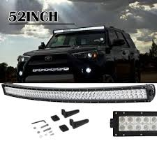 Suv Light Bar Details About 52 Inch 300w Led Curved Work Light Bar Flood Spot Combo Offroad Suv Atv Ly