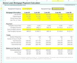 Download Mortgage Calculator With Escrow Home Payment Excel Loan ...