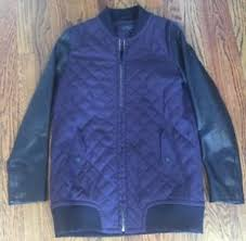 Rag Bone Black Purple Pacific Quilted Silk Lamb Leather Bomber ... & Image is loading Rag-Bone-Black-Purple-Pacific-Quilted-Silk-Lamb- Adamdwight.com