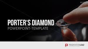 Diamond Powerpoint Template Presentationload Porters Diamond