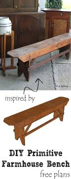 farmhouse bench beutiful frmhouse tble extr seting rustic plans cushion simple farmhouse bench woodworking plans