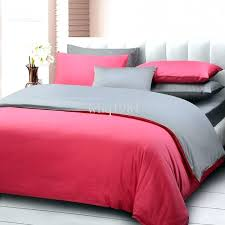red grey duvet cover dark grey bedding sets creative of bed sheets queen size pure color