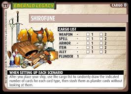 note the artwork on the shirofune card above was done by myself and is not covered by the paizo munity use policy