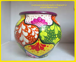 clay pot painting designs tutorial tierra este 72745
