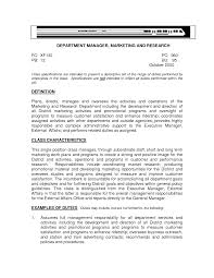 General Career Objective For Resume Examples Office Job Manager