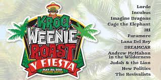 Weenie Roast 2017 Seating Chart Kroq Weenie Roast Y Fiesta 2017 At Stubhub Center Is Sold