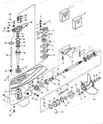 Force wiring diagram hp outboard parts image h p l drive ld b gear full size
