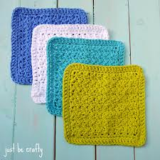 Easy Crochet Dishcloth Patterns Adorable Crochet Textured Dishcloth Pattern Free Pattern By Just Be Crafty