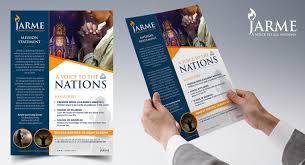Christian Pamphlet Designs Elegant Modern Religious Flyer Design For A Company By Sd