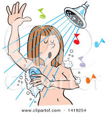 shower head clipart. Shower Head - Vector Illustration : On A White.) Clipart
