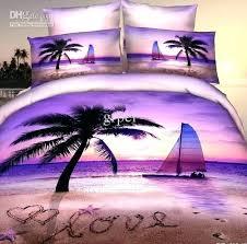 palm tree comforter set king palm tree comforter purple pink beach palm tree bedding sets queen