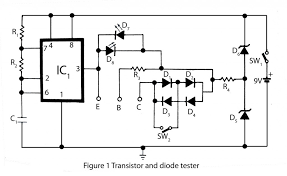 doorbell wiring diagram diode doorbell image transistor and diode tester electronics project on doorbell wiring diagram diode