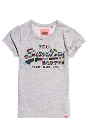 Superdry Womens Vintage Logo Boutique Embroidery Entry T T
