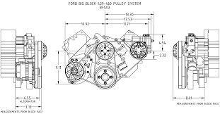 big block ford kit alternator and power steering quick overview