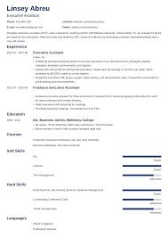 Executive Assistant Resume Templates Executive Assistant Resume Sample Complete Guide 20 Examples