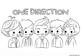 Coloriage One Direction En Ligne L