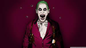 Jared Joker Leto Ultra Hd Desktop Background Wallpaper For