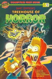 The Simpsons Treehouse Of Horror Comic  Horror Comics  Pinterest Simpsons Treehouse Of Horror 1 Watch Online
