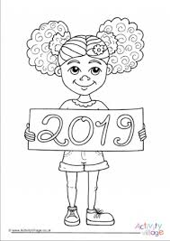 Boys And Girls Colouring Pages