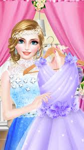 bridal boutique beauty salon wedding makeup dressup and makeover games screenshot 2