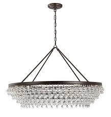 devanna 8 light bowl crystal chandelier