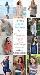 Crochet Summer Tops Patterns For Free