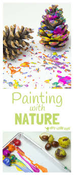 Painting With Nature - Process Art
