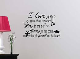 I Love You Like Quotes Unique I love you more than there are stars in the sky waves in ocean STARS