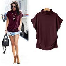 fashion women t shirts cal short sleeve turtleneck tops t shirt summer women clothes tops plus size urban t shirts irish t shirts from liasheng06