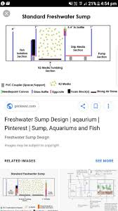Freshwater Sump Design Sump Help Tropical Fish Keeping Aquarium Fish Care And