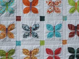 44 best Hand quilting with perle cotton images on Pinterest | Hand ... & Blogger's Quilt Festival: 'BUTTERFLIES' Adamdwight.com