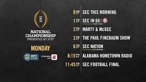 secn will air 15 hours of dedicated cfp