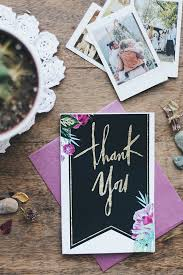 How To Compose The Perfect Wedding Thank You Cards Free Downloads