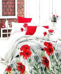 red duvet cover king duvet covers red poppy bedding sets red poppy bedding sets duvet cover