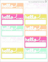 Avery 5395 Template For Word Avery Name Tag Labels Badge Template 5395 Hifzi