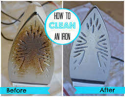 To remove those nasty marks on the your iron soleplate, try running your  hot iron (with the steam off) over a soft cloth sprinkled with at least a  ...