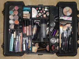 a well stocked makeup hair kit