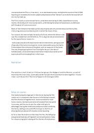 essay on horror movies part of the horror isthe advertisementand 2 insistence