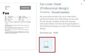 Basic Fax Cover Sheet Free Word Example 1430