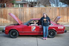 Teen From Texas Made an Electric Car From a Junked Toyota Celica ...