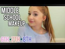 middle makeup 6th 7th 8th grade you